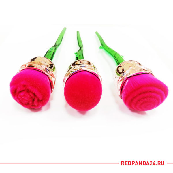 Набор кистей для макияжа (Роза)