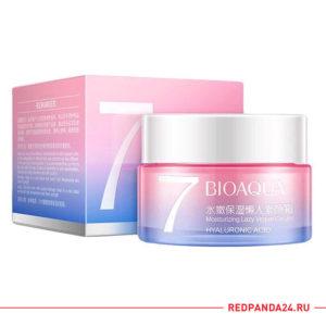 Увлажняющий крем для лица с гиалуроновой кислотой BIOAQUA Moisturizing Lazy Vegan Cream