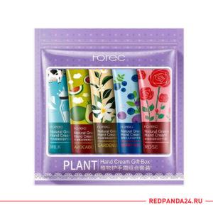 Набор кремов для рук Rorec Plant Hand Cream Gift Box