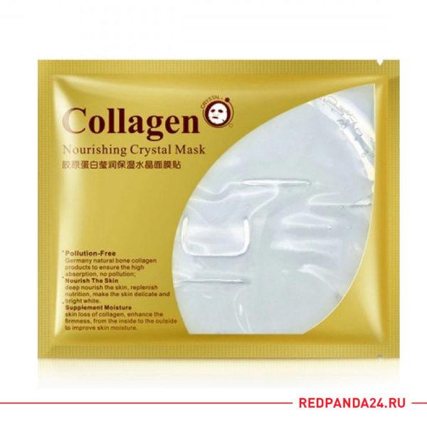 Гидрогелевая маска с коллагеном Bioaqua