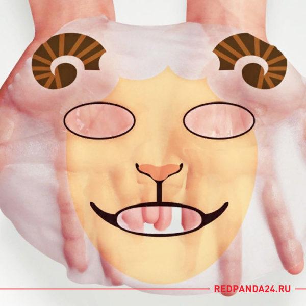 Питательная маска-салфетка ANIMAL SHEEP Bioaqua