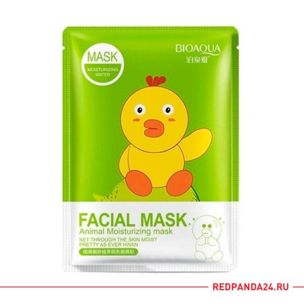Тканевая маска с экстрактом граната Bioaqua