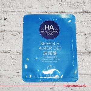 Тканевая маска с гиалуроновой кислотой Bioaqua
