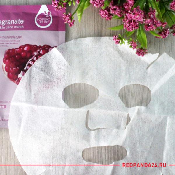 Тканевая маска с гранатом Rorec