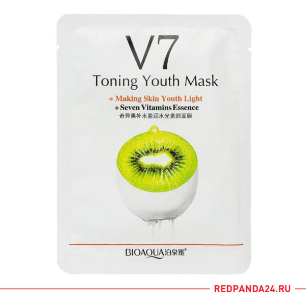 Тканевая маска с киви V7 Bioaqua