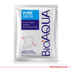 Тканевая маска анти акне Bioaqua