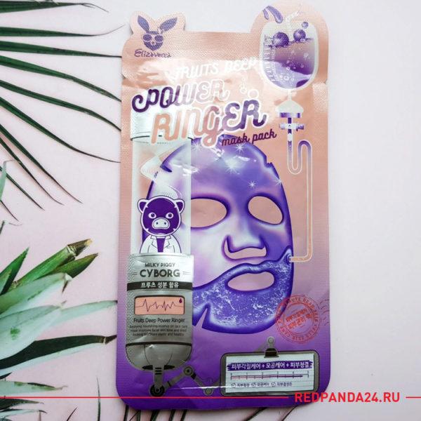 Тканевая маска с фруктами Elizavecca
