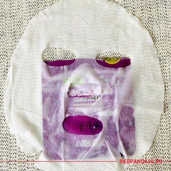 Тканевая маска с коллагеном Aspasia