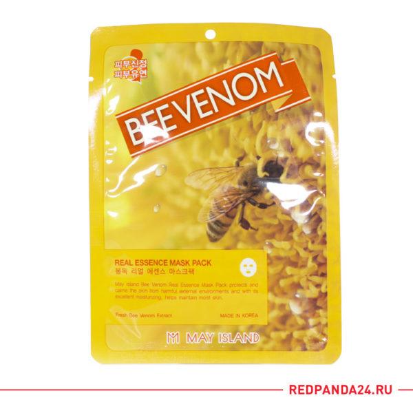 Тканевая маска с пчелиным молочком May Island