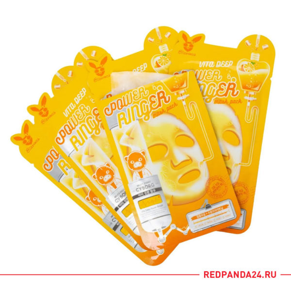 Тканевая маска с витаминами Elizavecca