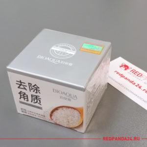 Отшелушивающий гель для лица с рисом Bioaqua