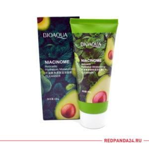 Пенка для умывания с авокадо Bioaqua