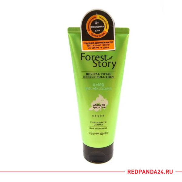 Маска для поврежденных волос с аргановым маслом Forest Story